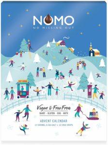 Nomo Veganer Adventskalender mit milchfreier Schokolade