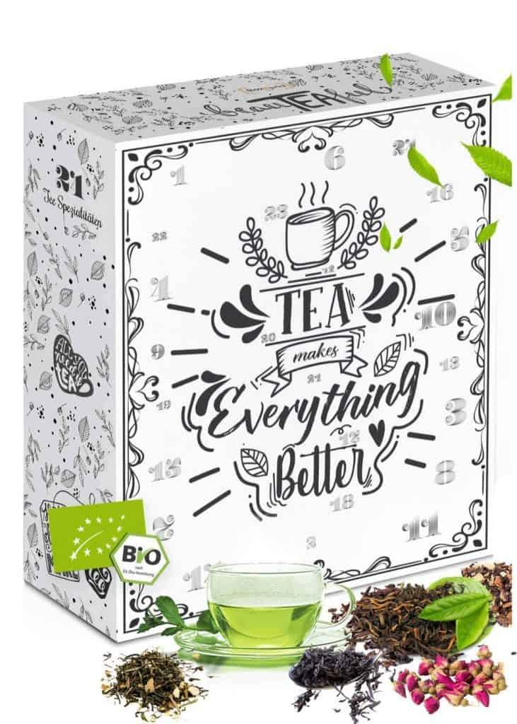 Tee Adventskalender in BIO-Qualität