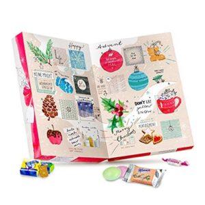 Veganer Advnetskalender mit Süßigkeiten
