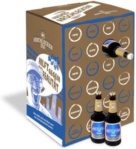 Adventskalender Arschlecken 350 Bier-Kalender