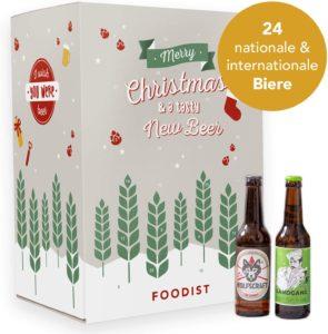 Foodist Bier Adventskalender 24er Craft Beer Geschenkidee