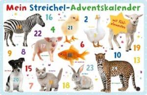Mein Streichel-Adventskalender Kalender