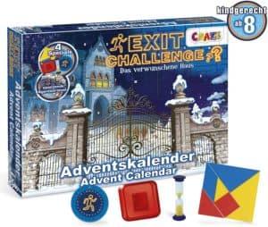 CRAZE Adventskalender EXIT CHALLENGE