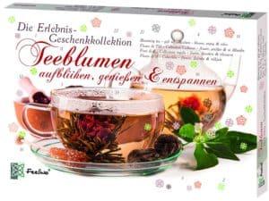 Feelino Teeblumen Geschenk-Kollektion mit 24 verschiedenen Teerosen