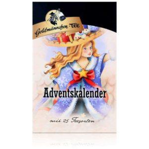 Goldmännchen Engel Tee-Adventskalender