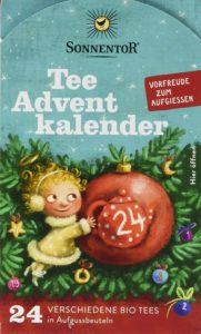Sonnentor Tee Adventskalender Edition 2019 mit 24 Aufgussbeutel