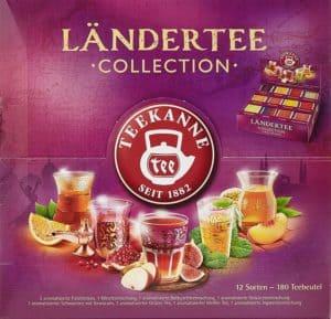 Teekanne Ländertee Collection Box