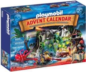 PLAYMOBIL Adventskalender 70322 Schatzsuche in der Piratenbucht
