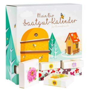 BIO-Saatgut Adventskalender Bienen-Freund