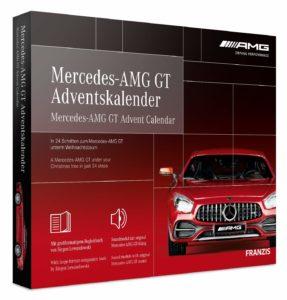 FRANZIS Mercedes-AMG GT Adventskalender