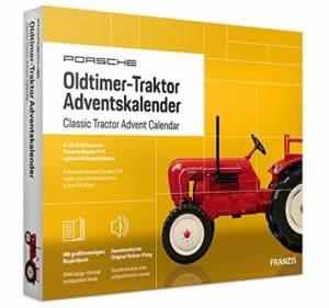 Porsche Traktor Adventskalender 2020
