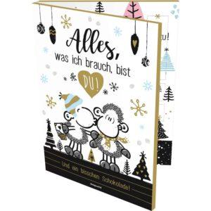 Sheepworld 49825 Partner-Adventskalender