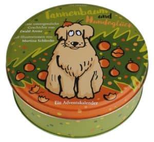 Adventskalender Tannenbaum und Hundeglück