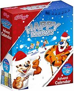 HiCollections Kellogg's Adventskalender 2020, enthält 24 Kellogg's Müsli-Riegel und 2 Pop-Tarts