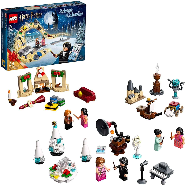 Lego Adventskalender mit Harry Potter Figuren