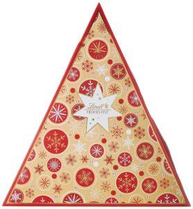 Lindt Adventskalender Tannenbaum Schneeflocke, glutenfrei