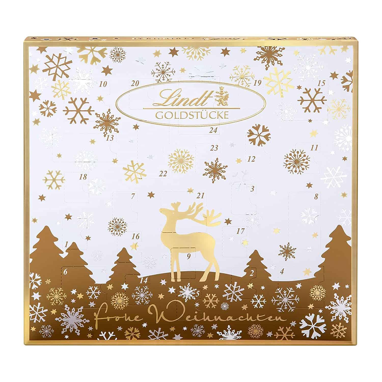 Lindt Goldstücke-Adventskalender (24 verschiedene Schokoladen-Überraschungen)