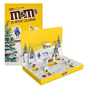 M&M Adventskalender mit Schokolade