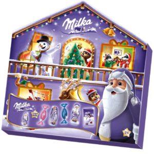 Milka Magic Mix Adventskalender, Mix aus 7 Milka Leckereien