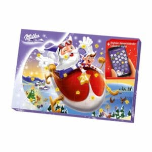 Milka Schokoladen Adventskalender mit digitalen Überraschungen