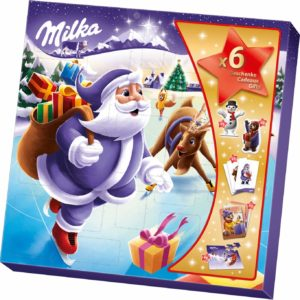 Milka Weihnachtsfreunde Schokoladen-Adventskalender