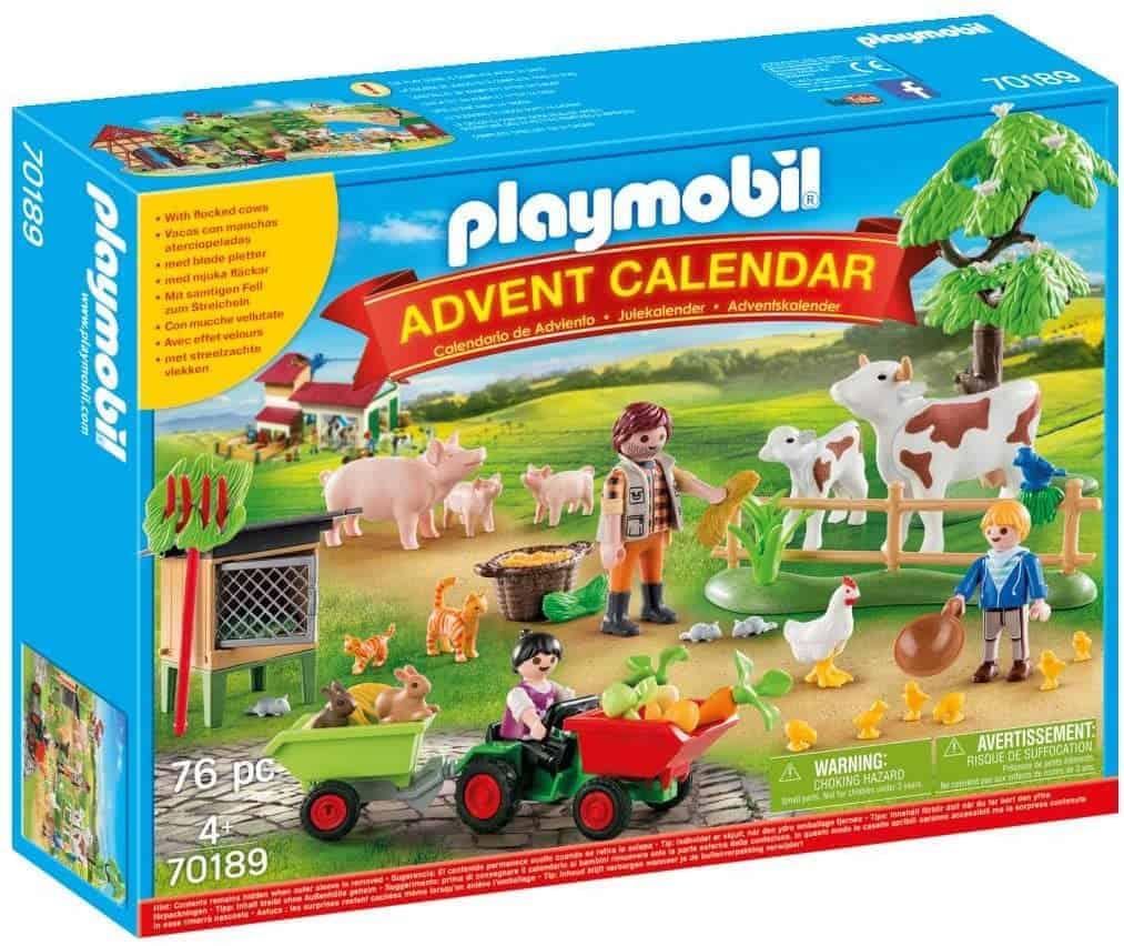 PLAYMOBIL Adventskalender 70189 Auf dem Bauernhof