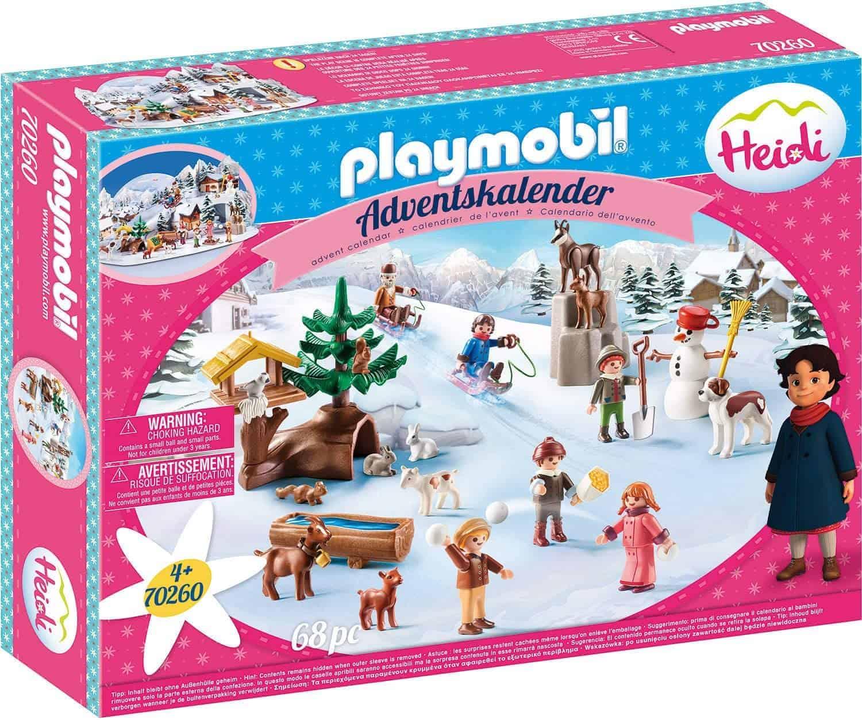 PLAYMOBIL Adventskalender 70260 Heidis Winterwelt