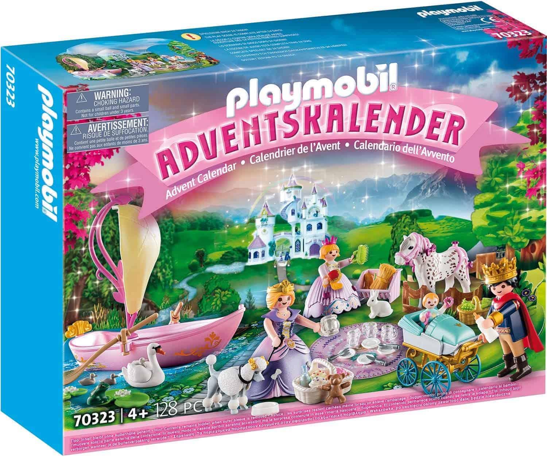 PLAYMOBIL Adventskalender 70323 Königliches Picknick im Park