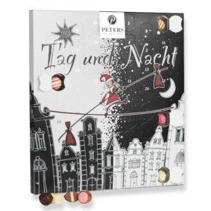 Peters Tag & Nacht Adentskalender mit Marzipan