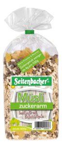 Seitenbacher Müsli Zuckerarm als Adventskalender Füllung