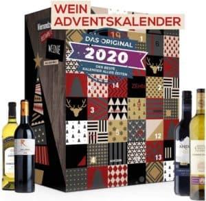 Wein-Adventskalender mit 24 außergewöhnlichen Weinsorten aus aller Welt