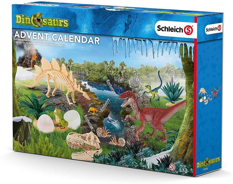 Dinosaurier-Adventskalender mit Figuren
