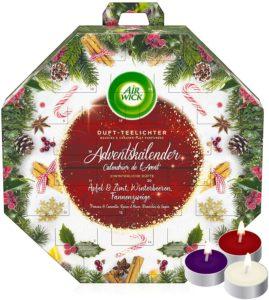 Air Wick Adventskalender, 24 Duftkerzen zur Vorfreude auf Weihnachten