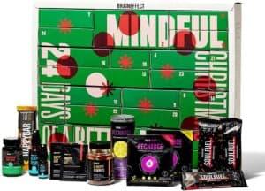 BRAINEFFECT 2-In-1 Adventskalender 2021 - Vegane Mind Food's für Fitness-Liebhaber und Biohacker + Digitales Coaching, Adventskalender Männer, Adventskalender Frauen, Adventkalender für 2021