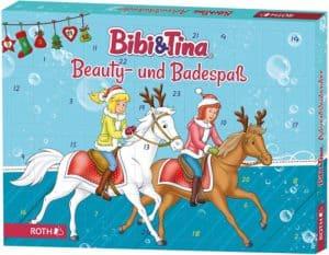 Bibi und Tina-Adventskalender 2020 gefüllt mit Beauty- und Badespaß für Mädchen und Pferdefreundinnen