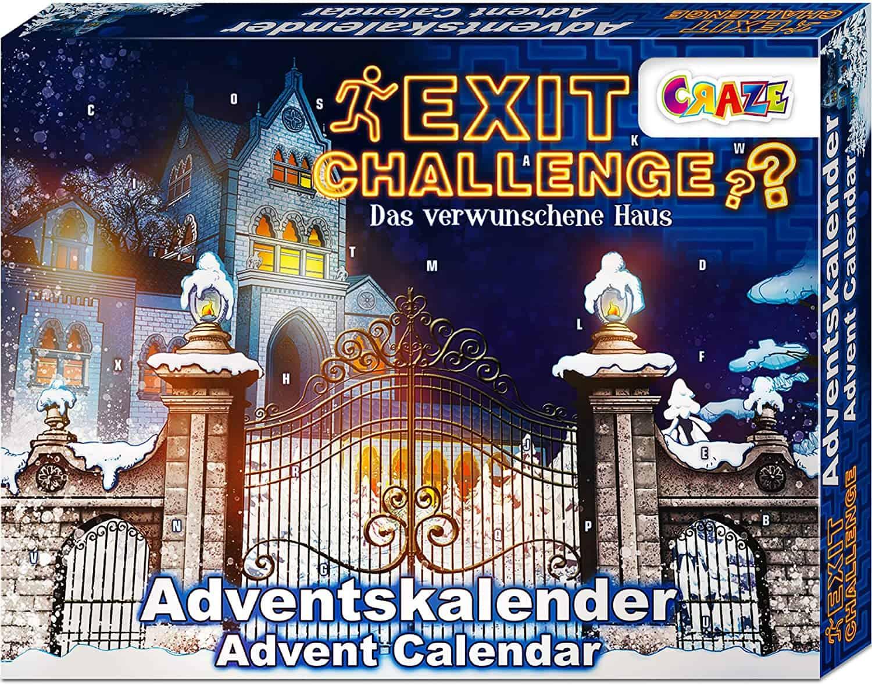 CRAZE Adventskalender EXIT CHALLENGE - das verwunschene Haus