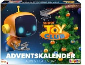 Craze Adventskalender Super Toy Club Weihnachtskalender 2021 Wissensspiel Geschicklichkeitsspiel