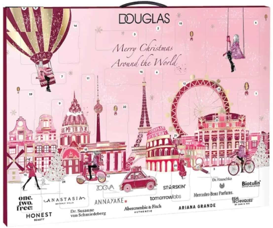 Douglas Beauty Adventskalender 2020 -Premium Edition Around The World- idealer Frauen + Mädchen Weihnachtskalender, Wert 300€