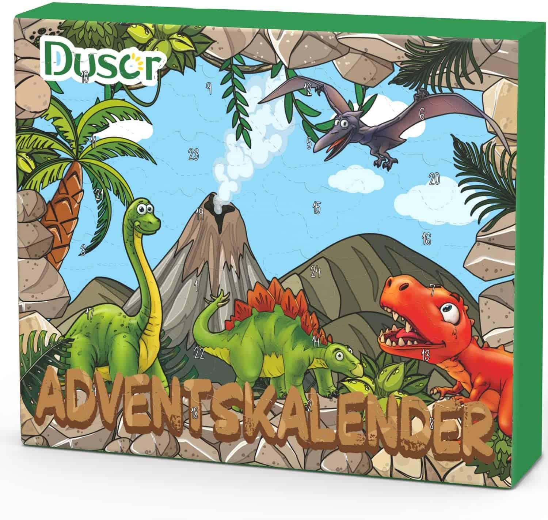 Dinosaurier Adventskalender Übersicht 2021