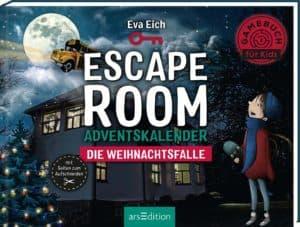 Escape Room. Die Weihnachtsfalle. Ein Gamebuch-Adventskalender für Kinder: Das Original: Der neue Escape-Room-Adventskalender von Eva Eich für Kinder. Löse 24 Rätsel und öffne den Ausgang