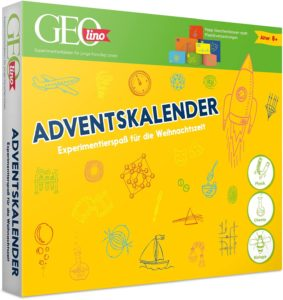 FRANZIS 67070 - GEOlino Adventskalender, 24 spannende Experimente zum Forschen und Entdecken