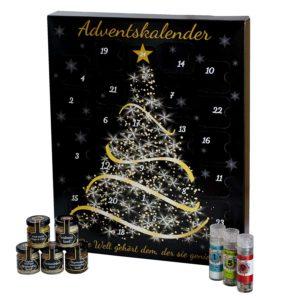 Feinkost Adventskalender - Weihnachtskalender mit hochwertigen Gewürzen