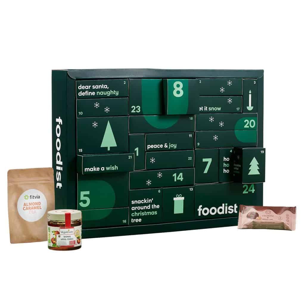 Foodist Veganer Adventskalender 2021