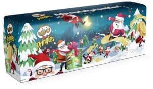 Handelshaus Huber-Koelle Pringles Chips-Adventskalender TÜRKIS