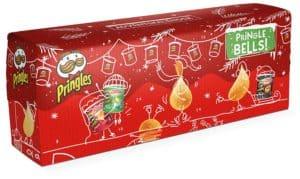 Handelshaus Huber-Koelle Pringles Chips-Adventskalender ROT