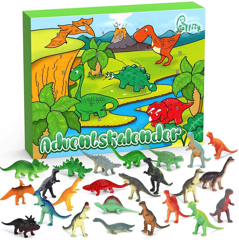 Laffity Adventskalender Dinosaurier