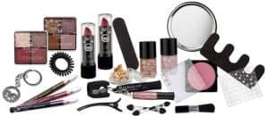 Makeup, Lidschatten, Lippenstifte, Nagellacke & Nagelverzierungen, Haarbänder