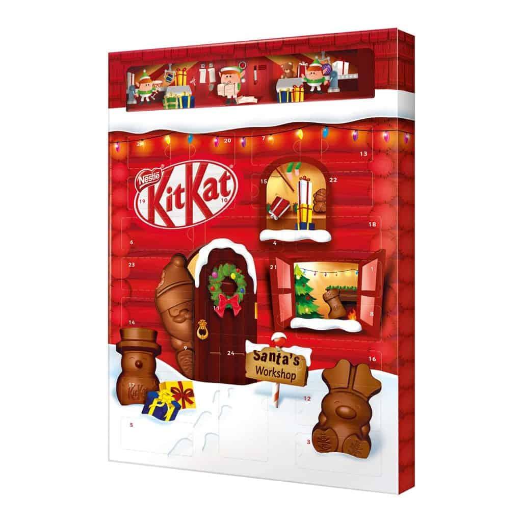 Süßigkeiten Adventskalender Übersicht 2021