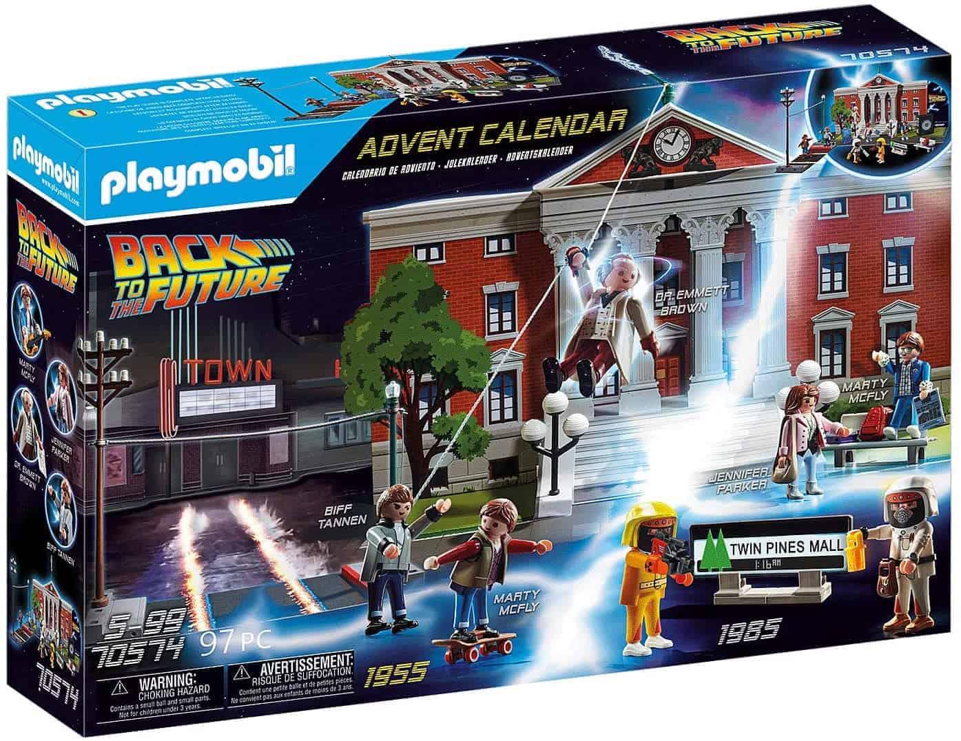 PLAYMOBIL Adventskalender 70574 Back To The Future