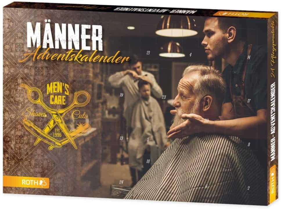 Beauty-Adventskalender für Männer Übersicht 2021